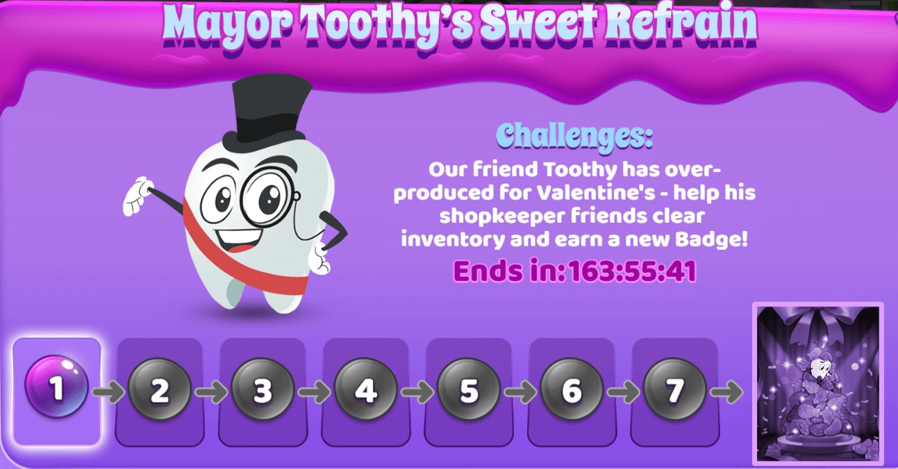 Sweet Tooth Town: Mayor Toothy's Sweet Refrain Event