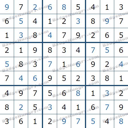 Pogo Daily Sudoku Solutions: February 21, 2021