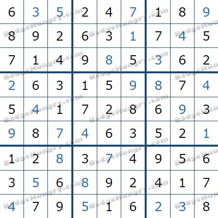 Pogo Daily Sudoku Solutions: February 22, 2021