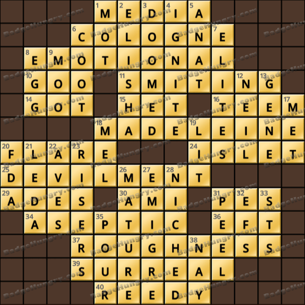 Crossword Cove HD Solution: February 22, 2021