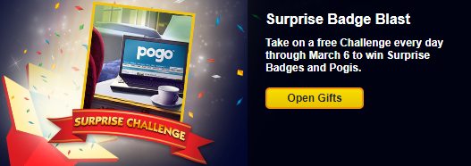 Surprise Badge Challenges