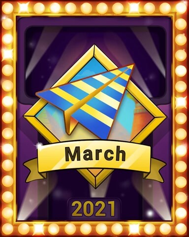 March 2021 Game of the Month Pogo Slots Badge