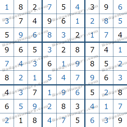 Pogo Daily Sudoku Solutions: March 4, 2021