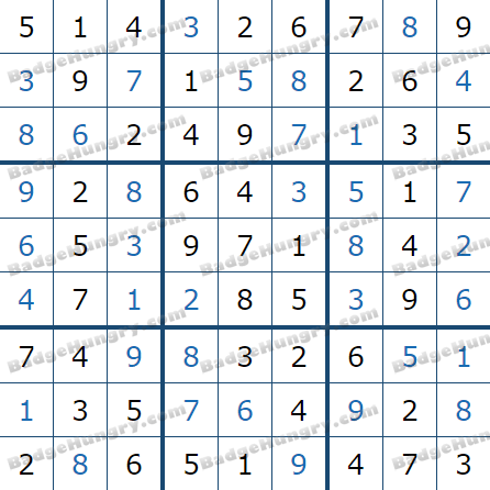 Pogo Daily Sudoku Solutions: March 7, 2021