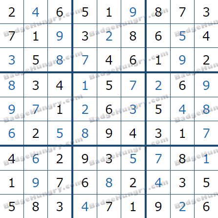 Pogo Daily Sudoku Solutions: March 12, 2021