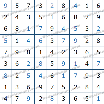 Pogo Daily Sudoku Solutions: March 15, 2021