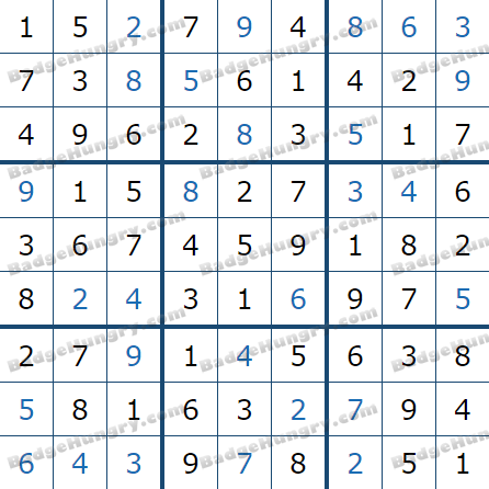 Pogo Daily Sudoku Solutions: March 17, 2021
