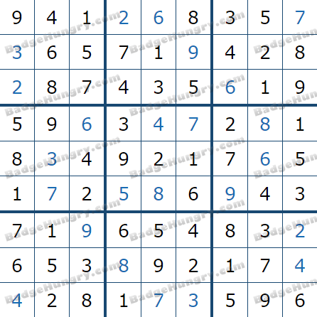 Pogo Daily Sudoku Solutions: March 19, 2021