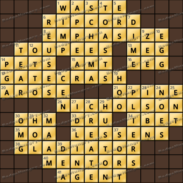 Crossword Cove HD Solution: March 21, 2021