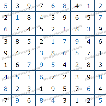 Pogo Daily Sudoku Solutions: March 22, 2021
