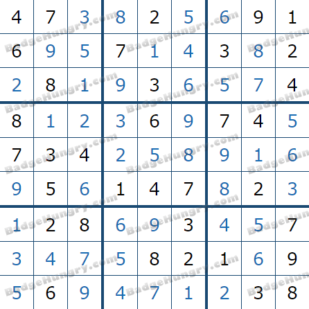 Pogo Daily Sudoku Solutions: March 23, 2021
