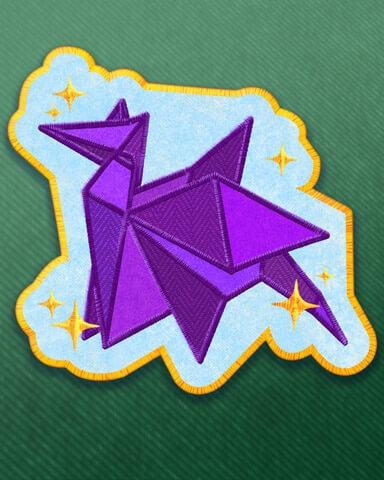 Outstanding Origamist Badge