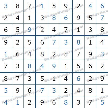 Pogo Daily Sudoku Solutions: March 26, 2021