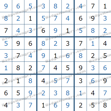 Pogo Daily Sudoku Solutions: March 27, 2021