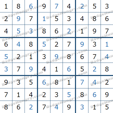 Pogo Daily Sudoku Solutions: March 28, 2021