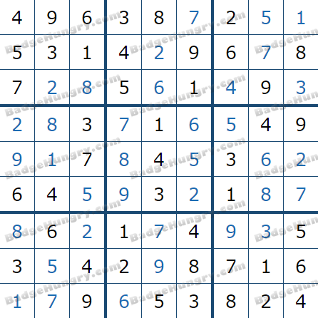 Pogo Daily Sudoku Solutions: March 31, 2021