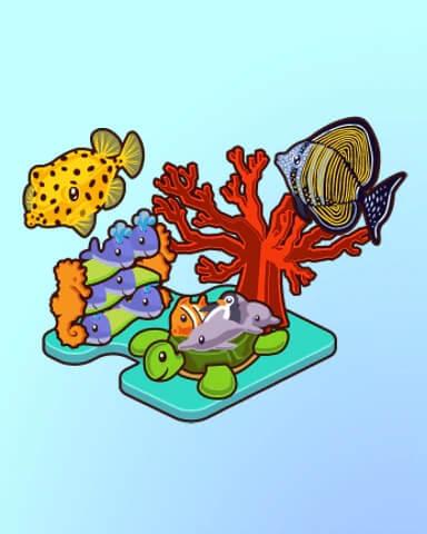 Quinns Aquarium Gift Shop Badge