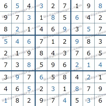 Pogo Daily Sudoku Solutions: April 1, 2021