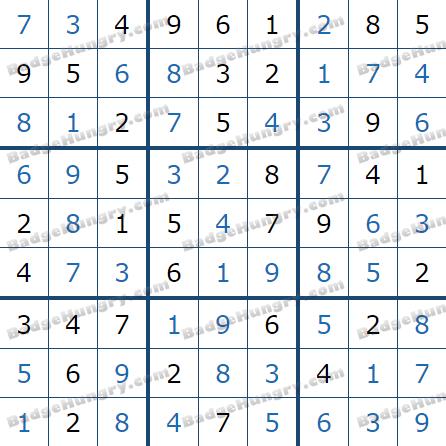 Pogo Daily Sudoku Solutions: April 3, 2021