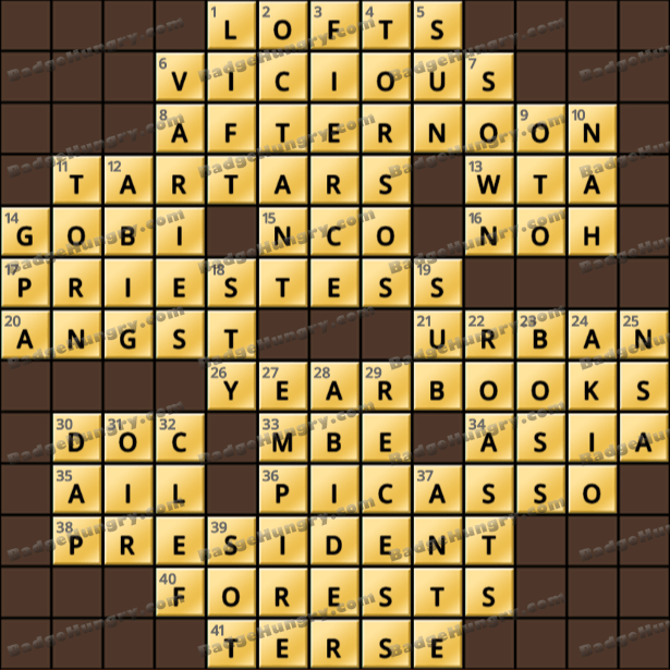 Crossword Cove HD Solution: April 3, 2021