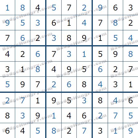 Pogo Daily Sudoku Solutions: April 5, 2021