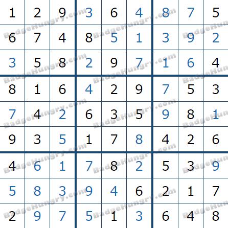 Pogo Daily Sudoku Solutions: April 6, 2021