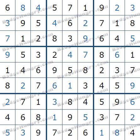 Pogo Daily Sudoku Solutions: April 7, 2021