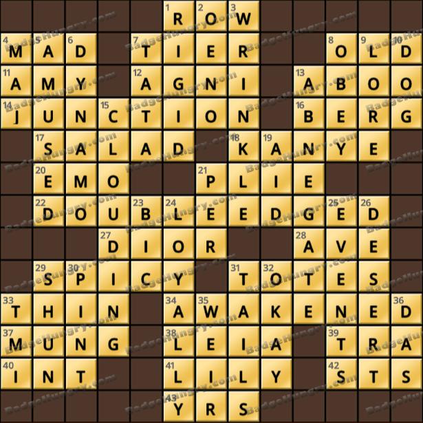 Crossword Cove HD Solution: April 8, 2021