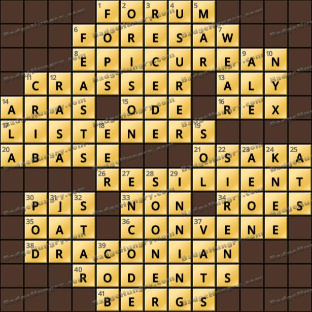 Crossword Cove HD Solution: April 12, 2021