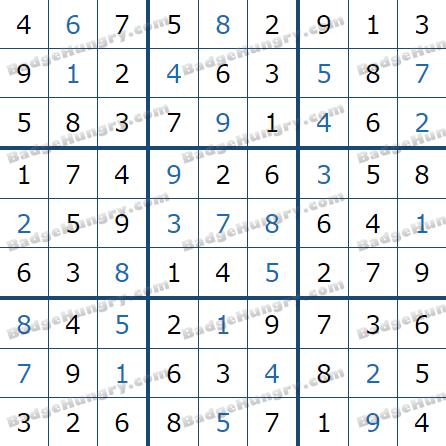 Pogo Daily Sudoku Solutions: April 13, 2021