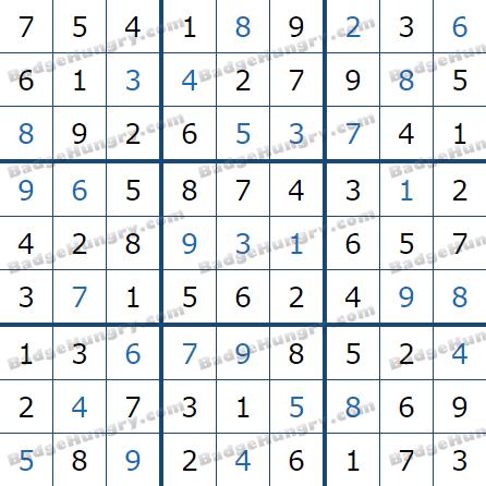 Pogo Daily Sudoku Solutions: April 14, 2021