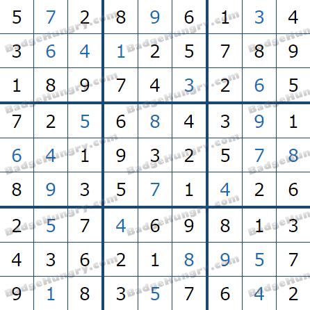 Pogo Daily Sudoku Solutions: April 16, 2021