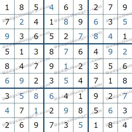 Pogo Daily Sudoku Solutions: April 18, 2021