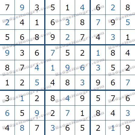 Pogo Daily Sudoku Solutions: April 19, 2021