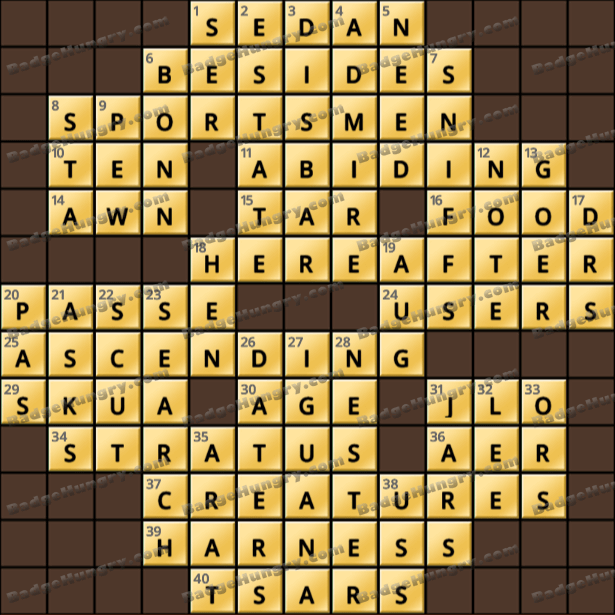 Crossword Cove HD Solution: April 20, 2021