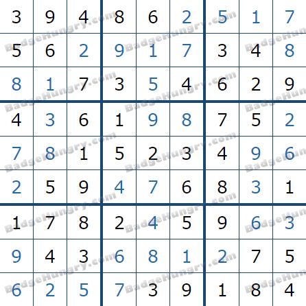 Pogo Daily Sudoku Solutions: April 23, 2021