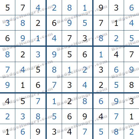 Pogo Daily Sudoku Solutions: April 24, 2021