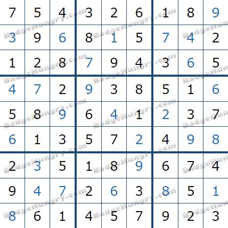 Pogo Daily Sudoku Solutions: April 26, 2021
