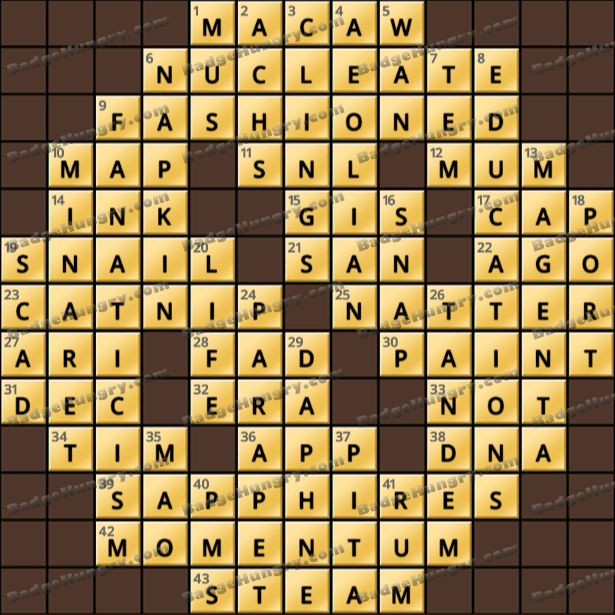 Crossword Cove HD Solution: April 28, 2021