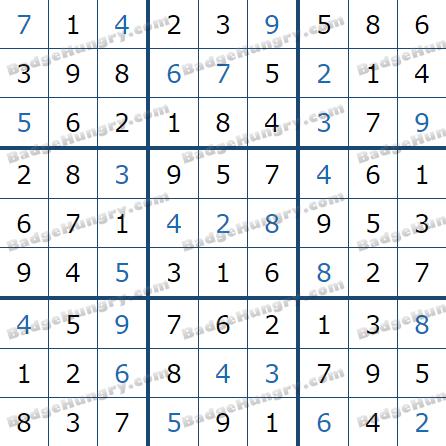 Pogo Daily Sudoku Solutions: April 29, 2021