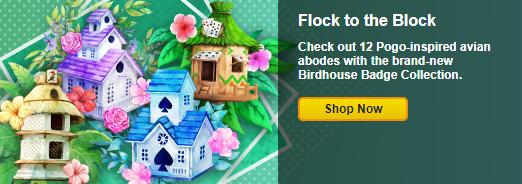 Birdhouse Badge Collection