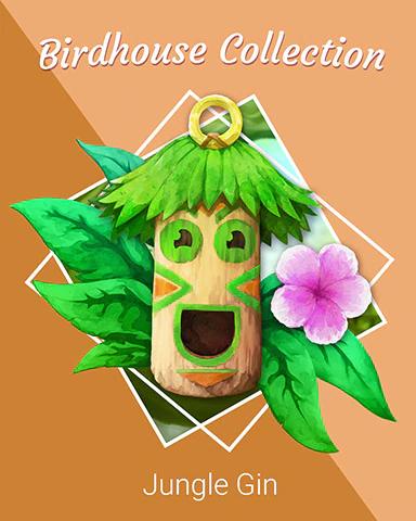 Birdhouse Badge Collection Badge