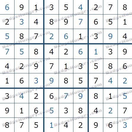Pogo Daily Sudoku Solutions: April 30, 2021