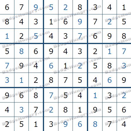 Pogo Daily Sudoku Solutions: May 3, 2021