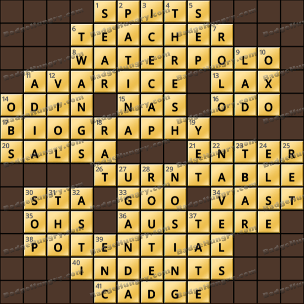Crossword Cove HD Solution: May 3, 2021