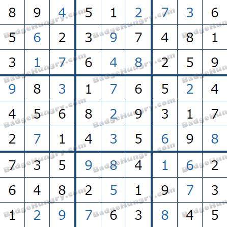 Pogo Daily Sudoku Solutions: May 4, 2021