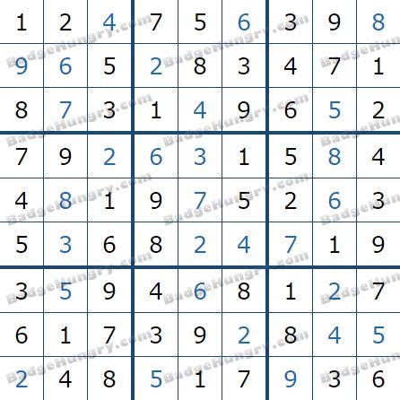 Pogo Daily Sudoku Solutions: May 5, 2021