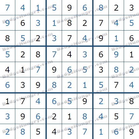 Pogo Daily Sudoku Solutions: May 6, 2021
