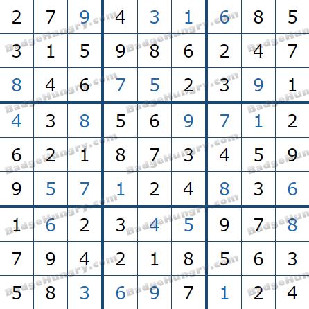 Pogo Daily Sudoku Solutions: May 7, 2021