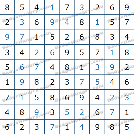 Pogo Daily Sudoku Solutions: May 9, 2021